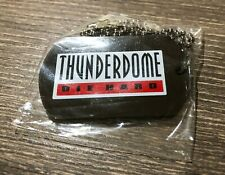 ID&T THUNDERDOME Die Hard DOG TAG Necklace HARDCORE Gabber Angerfist Q-Dance MOH
