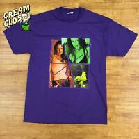 NOS DS Vintage 2002 WWF WWE Lita Hardy Boyz Photo Tee in Purple size Large