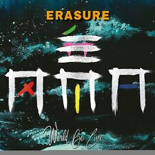 ERASURE World Be Live 2CD 2018