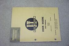 I&T Shop Service Manual John Deere Model R Diesel