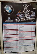 New! Custom BMW K1200LT Torque Spec Shop Art Poster! Second Edition! by Kirk J