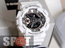 Women's White Casio G-shock S Series Watch Gmas110f-7a