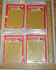 Airwaves Brass Floor Plates 4 pieces