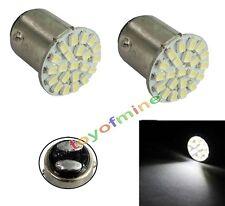 2pcs T25/S25 1157 BAY15D White 22 LED Car Stop Tail Turn Brake Light Bulb L