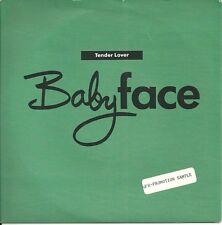 """Babyface - Tender Love (1990)  UK 7"""" + Promo Str oC"""