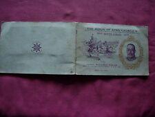 King George V Silver Jubilee WD & HO Wills Cigarette Cards 1935 X50 set in album