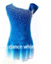 Customized Figure Skating Dress Ice Skating Skirt for Girl Women kids A894