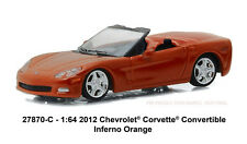 Greenlight General Motors Collection 2012 Chevrolet Corvette Convertible orange