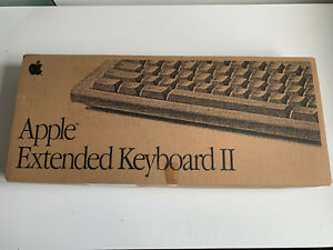 Apple Extended Keyboard II M0312 Boxed Original Box Amazing Vintage Rare ALPS