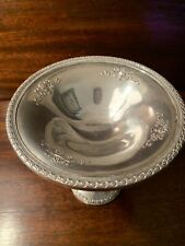 """New listing Weighted 463 Sterling Silver Vintage/Antique 6"""" Tall Compote Dish Bowl"""