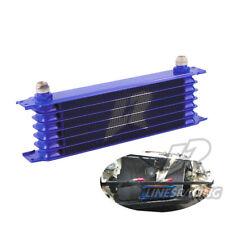 LINESRACING 7 Row AN10 oil cooler for Janpan car/ 10AN engine oil cooler blue