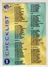 DS CARDS FRANCE FOOT 1999/2000 DIVISION 1 - CHOISIR 1 CARTE DANS LA LISTE