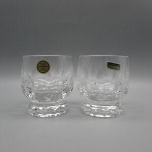 Villeroy & Boch Fine Cut Crystal Arabelle Whiskey Glasses - Set of Two