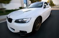 BMW E92 E93 M-TECH M-SPORT FRONT LIP / SPLITTERS / VALANCE / SPOILER