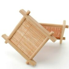 1Pc Wood Bamboo Pad Tea Trays Creative Wood Jing Concave Chinese Cup Mat 7cm*7cm
