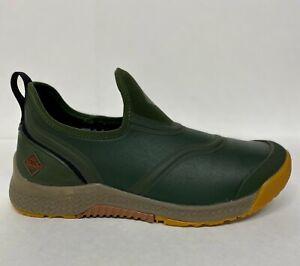 Muck Men's Outscape Low OSS-300 Moss Shoe Boot Half Sizes 100% Waterproof