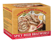 Hi Mountain Jerky Homemade Sausage Making Kit - Spicy Beer Bratwurst Sausage