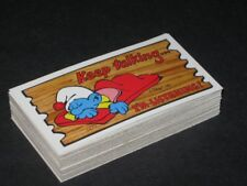 Smurf Supercards - Complete Trading Card SET (56) - Topps 1982 - NM
