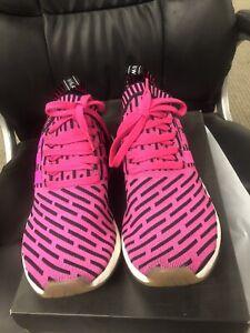 Adidas NMD_R2 PK Pink /Black Sneakers BY9697 Men's 8.5