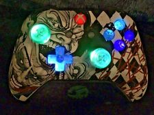 Limited Edition Joker Xbox One Controller w LED GLOWING MOD COD HALO OVERWATCH