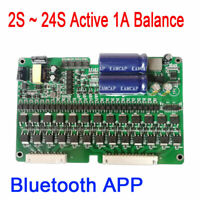 Battery Active Equalizer 1A Balance 2S ~ 24S BMS APP For Li-ion,Lipo,Lifepo4,LTO