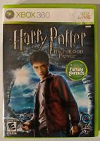 Harry Potter and the Half-Blood Prince (Microsoft Xbox 360, 2009) W/ Manual CIB