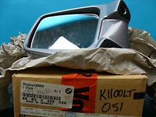 NOS Original BMW OE Left side Mirror complete Aspen Silver K1100RS/LT