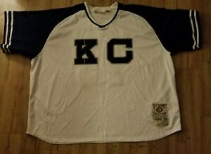KC Monarchs Bullet Joe Rogan Negro League Baseball Jersey men's size-8XL Legend