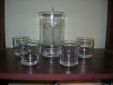 Mad Man Era ~ Martini / Manhattan Cocktail set ~ With Glass Stir