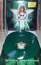 2 LP WITHIN TEMPTATION - MOTHER EARTH - NUMBERED 5000 - GREEN - MOV