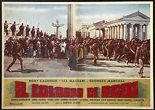 CINEMA-fotobusta IL COLOSSO DI RODI massari, S. LEONE