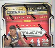 2020-21 Panini Prizm NBA Basketball 24pack Retail Box 1 Auto Inside Pink Pulsar