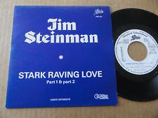 "DISQUE 45T PROMO DE JIM STEINMAN  "" STARK RAVING LOVE """