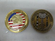 CHALLENGE COIN UNITED STATES ARMY WARRANT OFFICER THE QUIET PROFESSIONAL