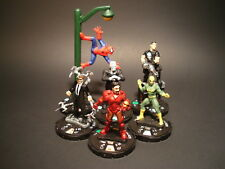 HeroClix Marvel Starter Pack Spiderman Series Lot of 6 Miniatures w/Cards