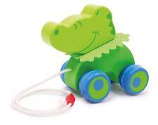 Ziehtier   Nachziehtier Krokodil Stefan  mit  Wunschname   Baby Holz