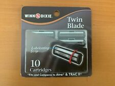 WINN DIXIE TWIN BLADE RAZOR CARTRIDGES 10/CT COMPARES TO ATRA & TRAC II