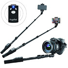 """(2) Selfie Stick Open Box, Extend 49"""",Bluetooth Remote,iPhone,GoPro,Android,DSLR"""
