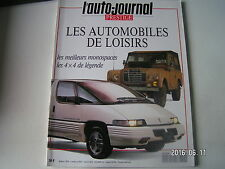 ** Auto Journal Hors série n°5 Jeep Militaire / Mercedes Serie G / Vw Combi