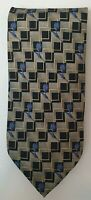 Hardy Amies 100% Silk Tie Made In Italy