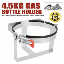 Gas Bottle Holder 4.5KG Galvanized for Camping Trailer Caravans & 4WD'S