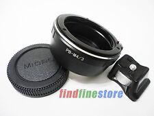 Praktica PB P B Lens to Micro 4/3 M4/3 E-P3 E-PL2 GF3 GF5 tripod mount adapter
