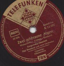 Golgowsky Quartett : Zwei rehbraune Augen + Männertreu Tango
