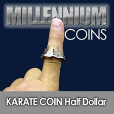Karate Coin Extreme Half Dollar Version - Jab Your Finger Through A Half Dollar