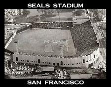 San Francisco - SEALS STADIUM - Flexible Fridge Souvenir Magnet