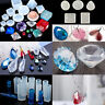 DIY Silicone Mould Craft Mold Set for Resin Necklace Jewelry Pendant Making