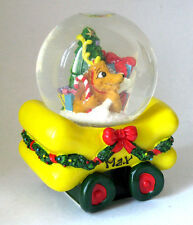 "Vintage Christmas Toy Car ""Max"" Snow Globe Collectible #181"