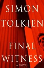 Final Witness: A Novel by Simon Tolkien