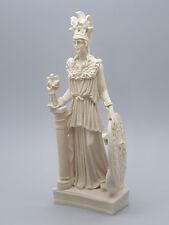 Athena Minerva Greek Roman Goddess Cast Marble Statue Sculpture 10''