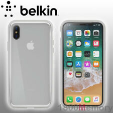 GENUINE Belkin SheerForce Elite Protective Case for Apple iPhone X 10 5.8 Silver